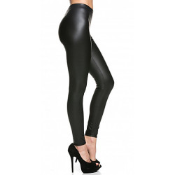 Leggings de Aspecto Mojado