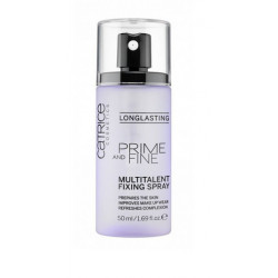 Prime and Fine Multitalent Fixing Spray de Catrice