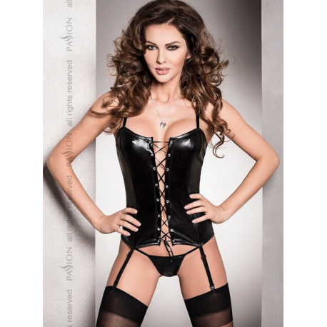 Corset Fetish con Liguero y Tanga by Passion